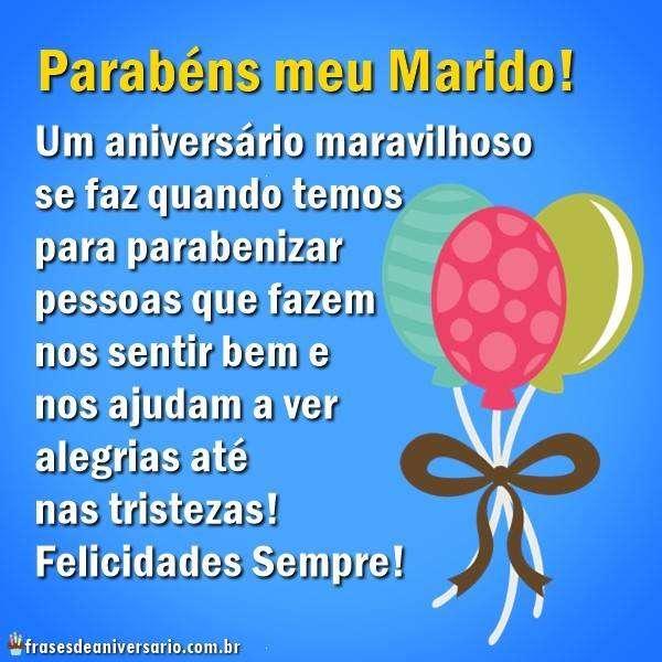 Feliz Aniversário Marido Evangélico Frases De Aniversário
