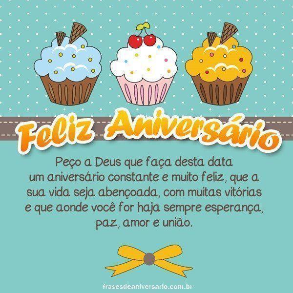 Parabéns Que Deus Te Abençoe Frases De Aniversário