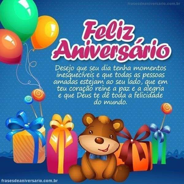 Feliz Aniversário Com Paz De Deus Frases De Aniversário