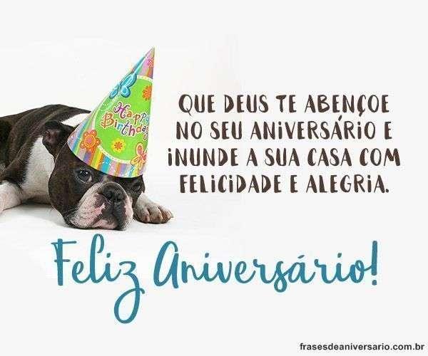 Feliz Aniversário Deus te Abençoe