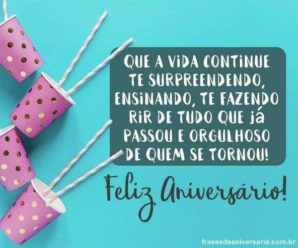 Frases De Aniversário Para Desejar Feliz Aniversário