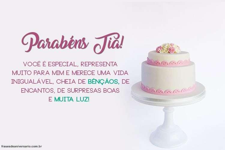 Feliz Aniversário Para Tia: Whatsapp Facebook Baixar