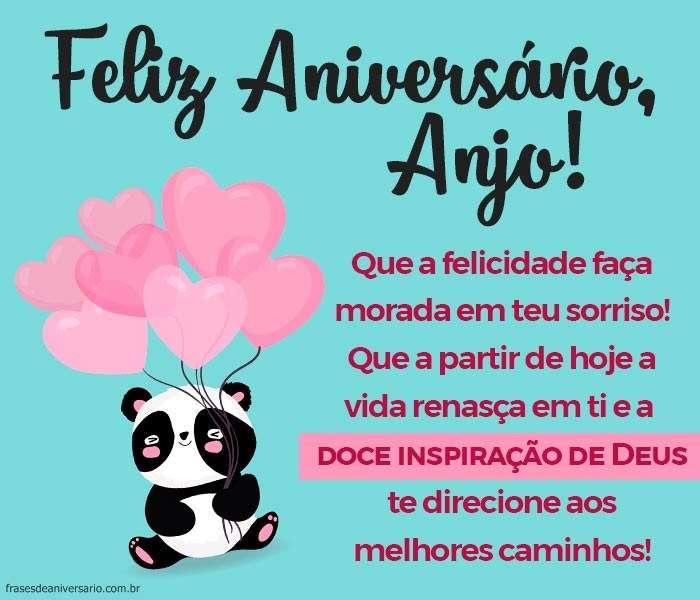 Feliz Aniversário Anjo Frases De Aniversário