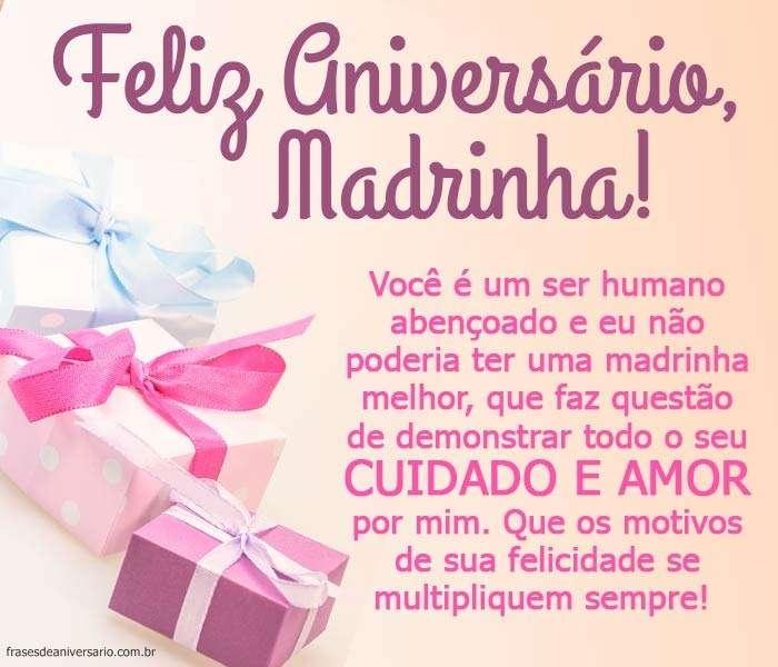 Mensagem De Aniversário Para Madrinha Frases De Aniversário