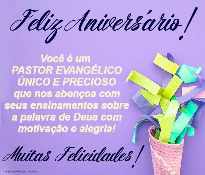 Feliz Aniversário Pastor Evangélico Frases De Aniversário