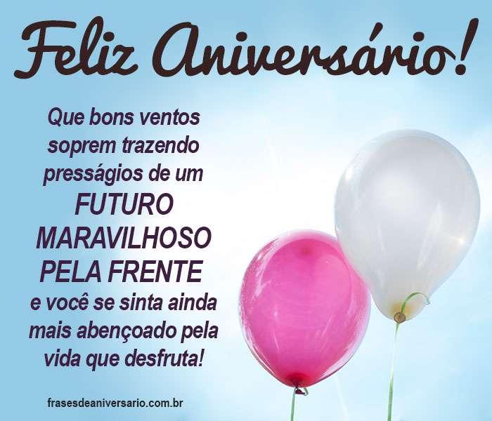 Feliz Aniversário e Um Futuro Maravilhoso!