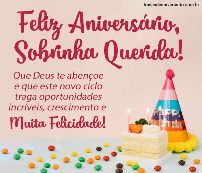 Feliz Aniversário Minha Sobrinha Querida Frases De Aniversário
