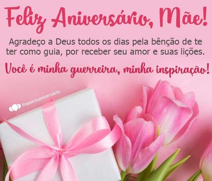 Feliz Aniversário Mãe Minha Inspiração Frases De Aniversário