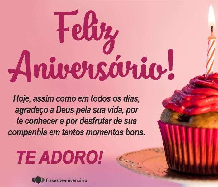 Feliz Aniversário, Agradeço a Deus por sua Vida