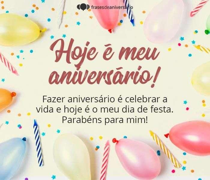 Hoje é Meu Aniversário, Vamos Celebrar
