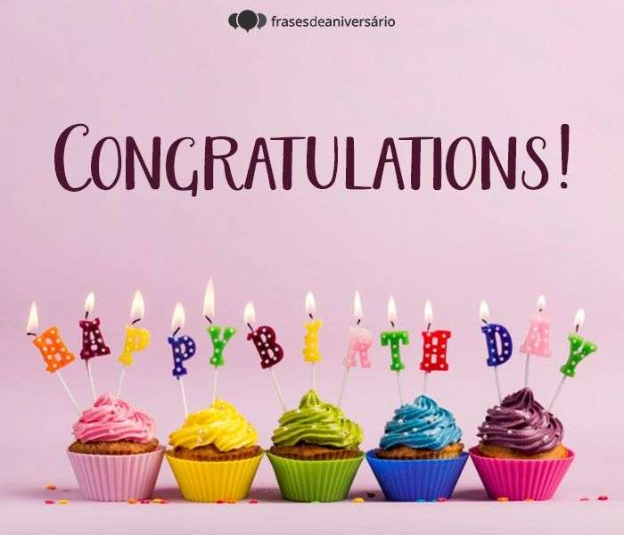 Parabéns Em Inglês