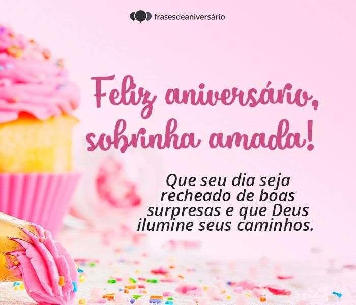 Feliz Aniversário, Sobrinha Amada!