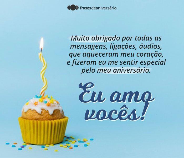 Gratidão pelas Felicitações de Aniversário