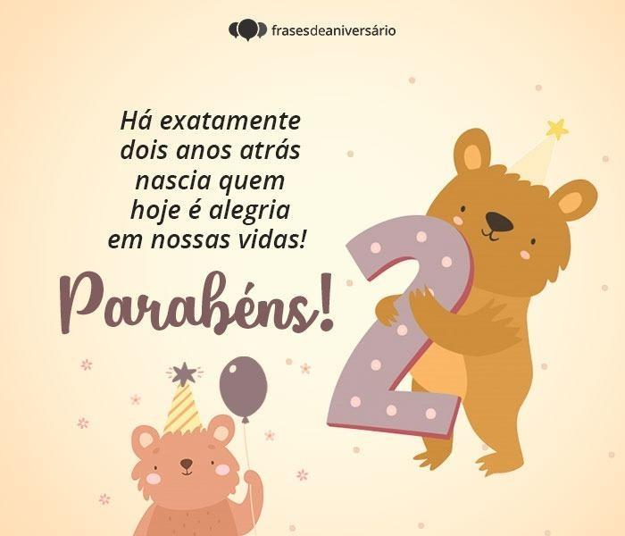 Você é Alegria em Nossas Vidas, Parabéns