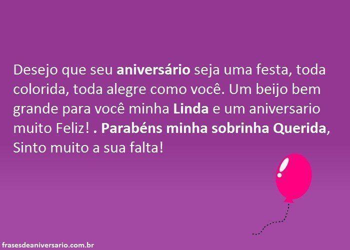 Beijo De Parabéns Para Sobrinha: Aniversario-sobrinha.jpg