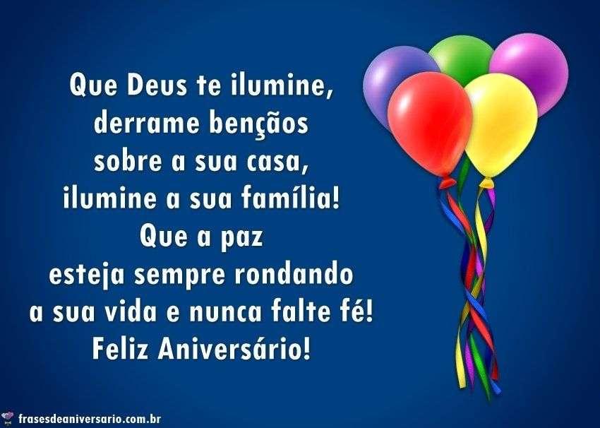 Parabéns Com Muitas Bençãos Frases De Aniversário