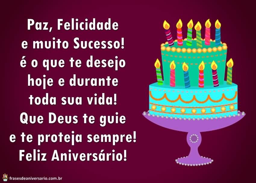 Feliz Aniversário Amiga Envio Um Beijo E O Desejo De Que: Paz, Felicidade E Muito Sucesso! é O Que Te Desejo Hoje E