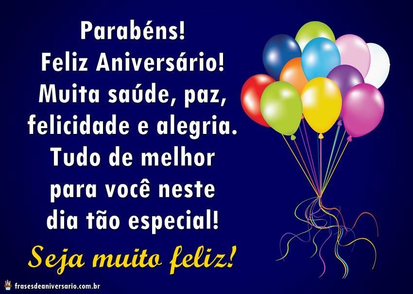 Feliz Aniversário Tia Que A Paz O Amor E A Alegria: Parabens! Feliz Aniversário! Muita Saúde, Paz, Felicidade
