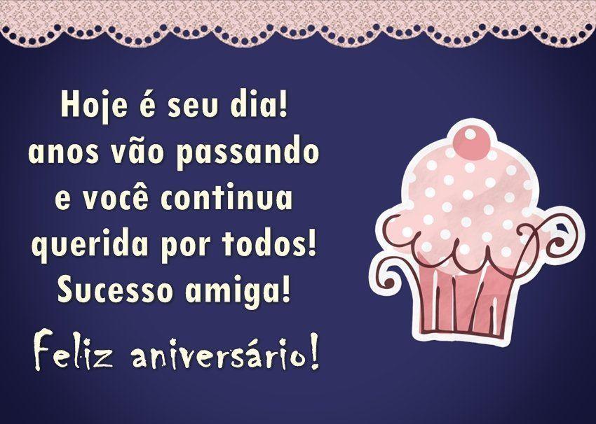 Sucesso Amiga Feliz Aniversário Frases De Aniversário