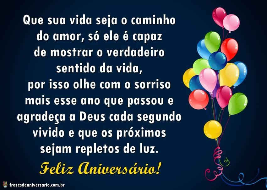 Feliz Aniversário Deus Te Ama Frases De Aniversário