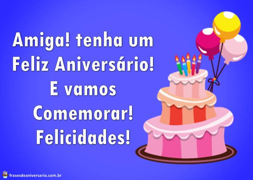Tag Frases Curtas E Bonitas De Feliz Aniversario Para Amiga